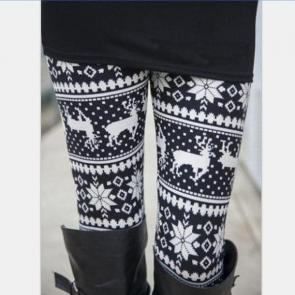 Women's Stretch Print Leggings